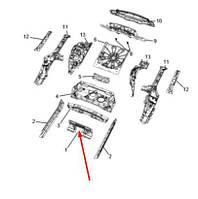 Оригинальная поперечина панели пола Jeep Compass