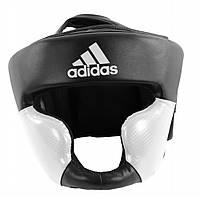 Шлем тренировочный Adidas Response, черно-белый