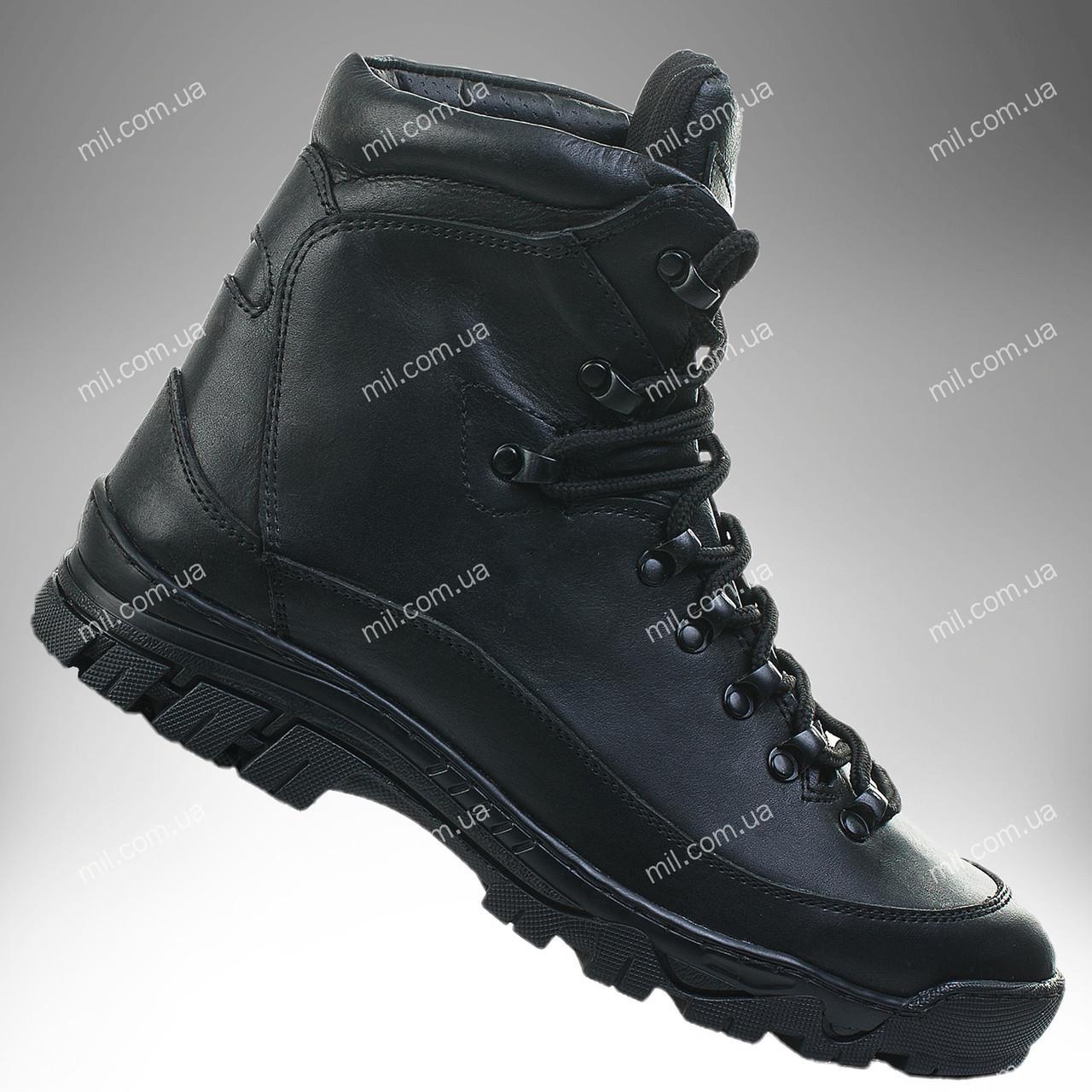 Армейские ботинки зимние / военная, тактическая обувь АНТЕЙ (черный)