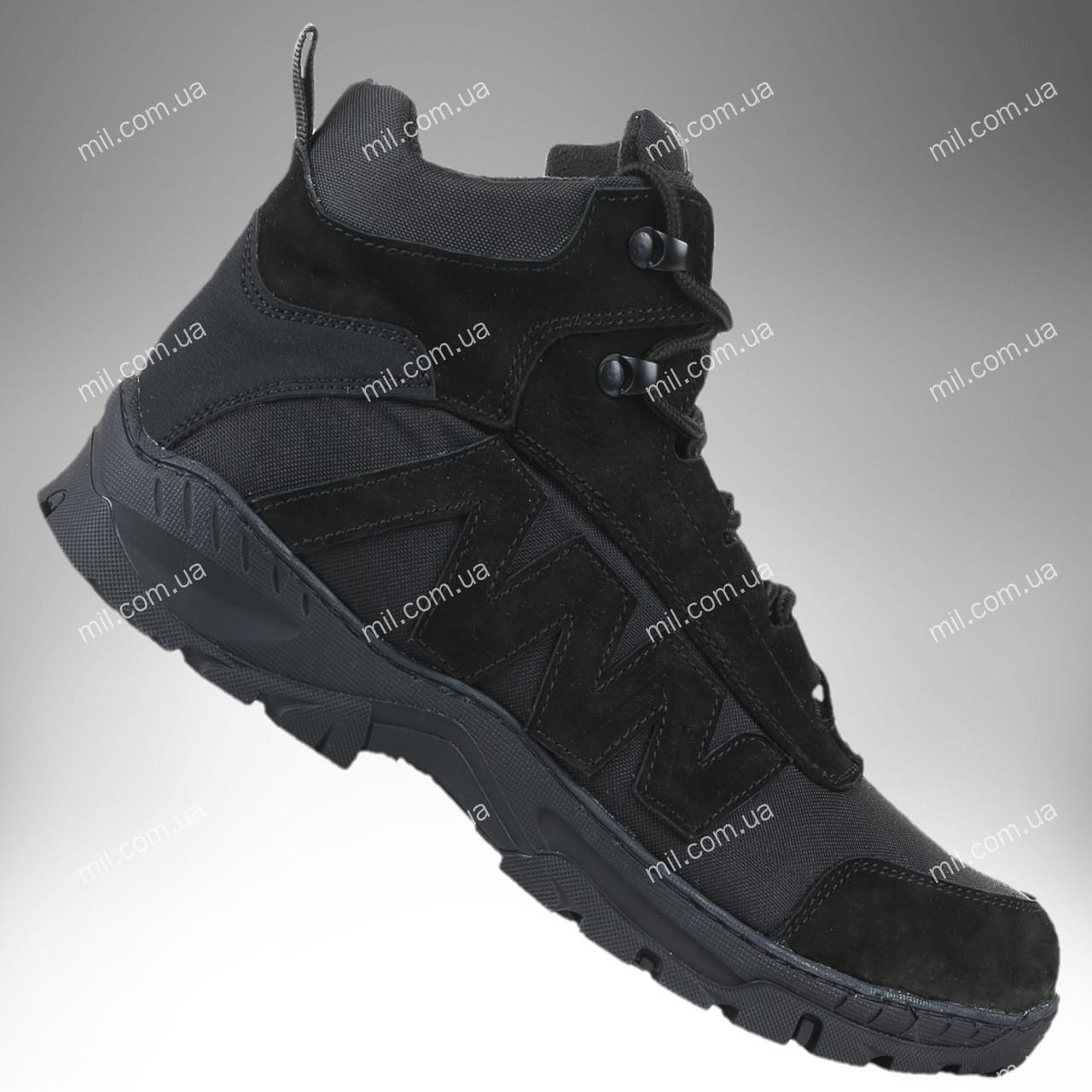 Военные зимние полуботинки / тактическая обувь Comanche Gen.II (черный)