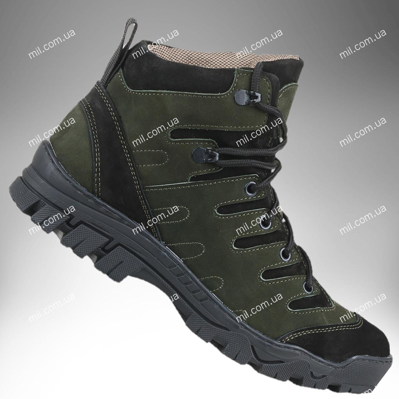 Полуботинки военные зимние/ армейская, тактическая обувь VARAN (оливковый)