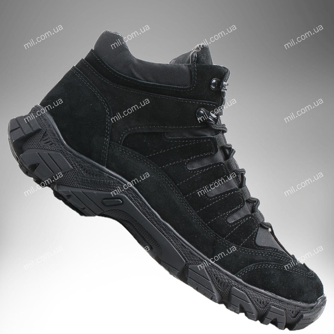 Полуботинки военные зимние / армейская, тактическая обувь VERSUS Pro (черный)