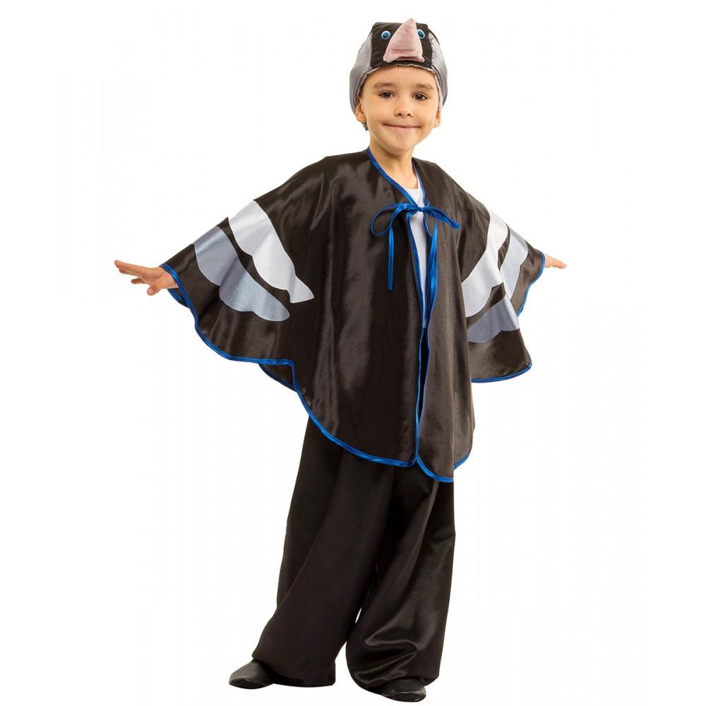 Детский карнавальный костюм Грача Скворца или Воробья