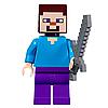 Конструктор Bela My World Minecraft Нападение армии скелетов 10989 463 детали, фото 4