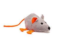 Мягкая игрушка Мышь серая 22 см