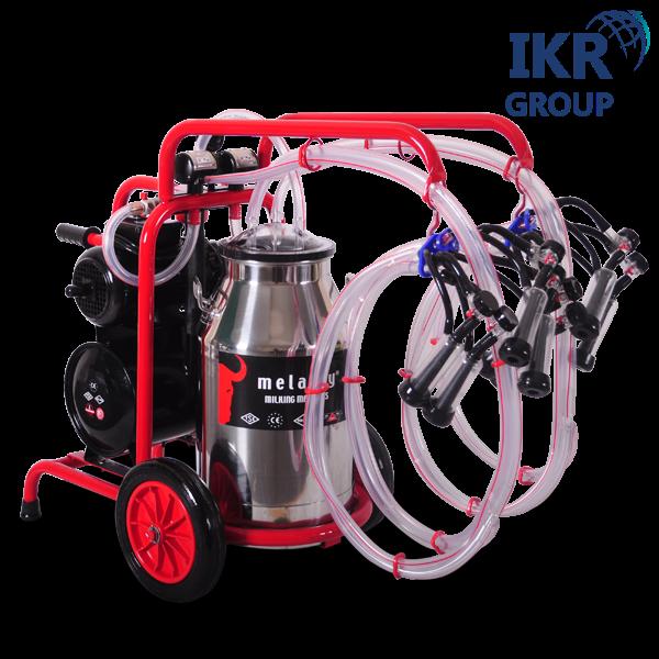 Доїльний апарат для чотирьох кіз Melasty TKKC 4-PK