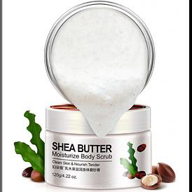 Скраб для тела BioAqua Shea Butter Moisturize Body Scrub с маслом Ши. 120 г