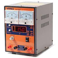 Лабораторный блок питания Yihua PS-1502D+ 15 вольт 2 ампера + USB + 9V DC