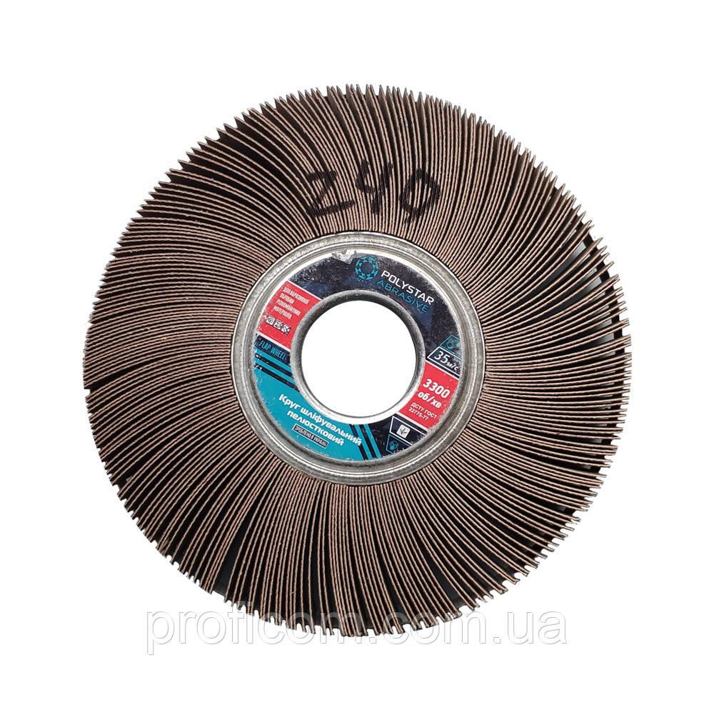 Круг шлифовальный лепестковый КШЛ 200х30х32 мм, P220