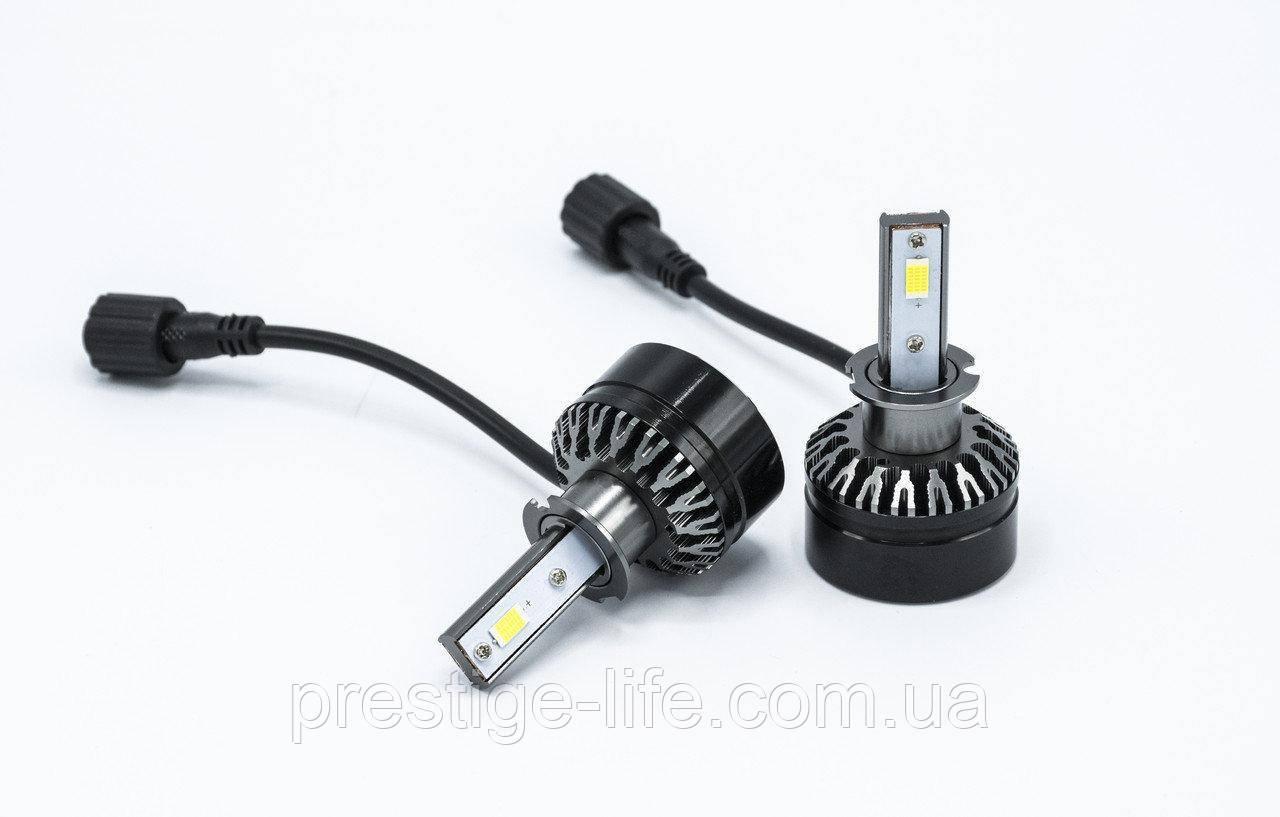 Cветодиодные лампы D6-H3 LED 12-24v/5000Lm/6000K (2 шт)
