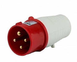 Вилка переносна ВП 16A 3P+PE (014)  380V IP44 ENERGIO