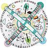 Развивающий коврик Lionelo Paula со светом и музыкой, фото 4