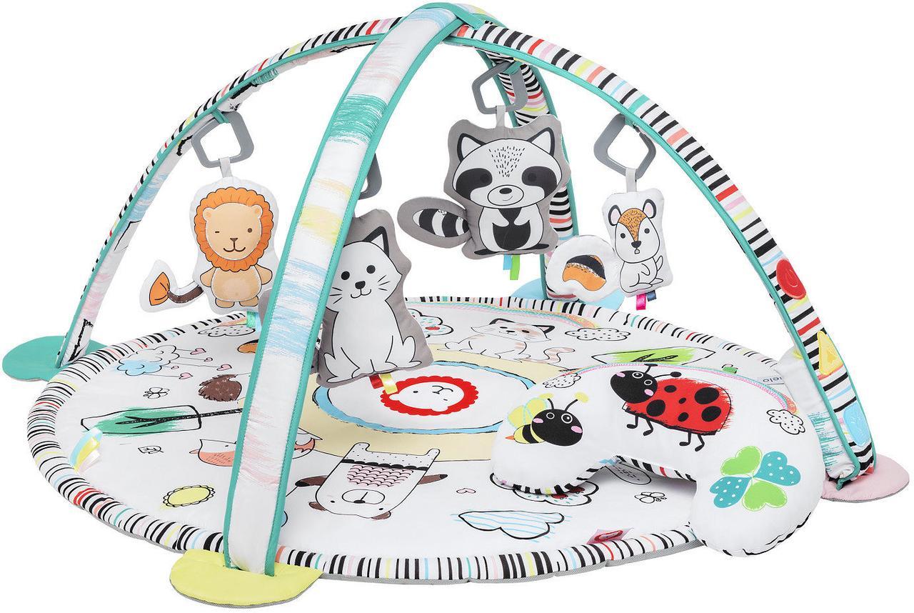 Развивающий коврик Lionelo Paula со светом и музыкой