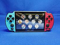Портативная консоль Sony PSP X7 Plus 9999 ИГР 8 GB Голубой + Красный