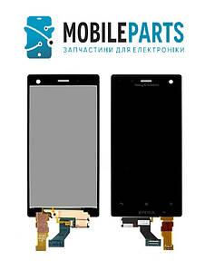 Дисплей для Sony LT26i | Xperia S с сенсорным стеклом (Черный) Оригинал Китай