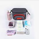 Универсальная сумка для коляски (черная) (24*11*15 см), фото 2