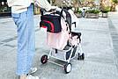 Универсальная сумка для коляски (черная) (24*11*15 см), фото 3