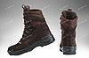 Берцы зимние / военная, тактическая обувь GROZA (шоколад), фото 3