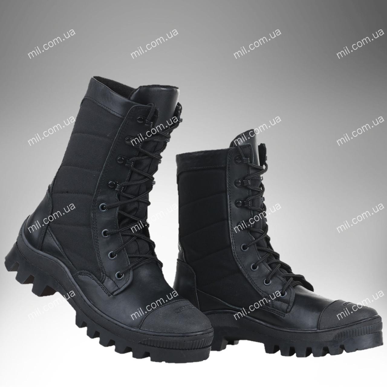 Берцы зимние / военная, армейская обувь СКИФ I (black)