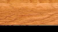 Плинтус с кабель каналом с прорезиненными краями 56х18мм 2,5м Тис вязь