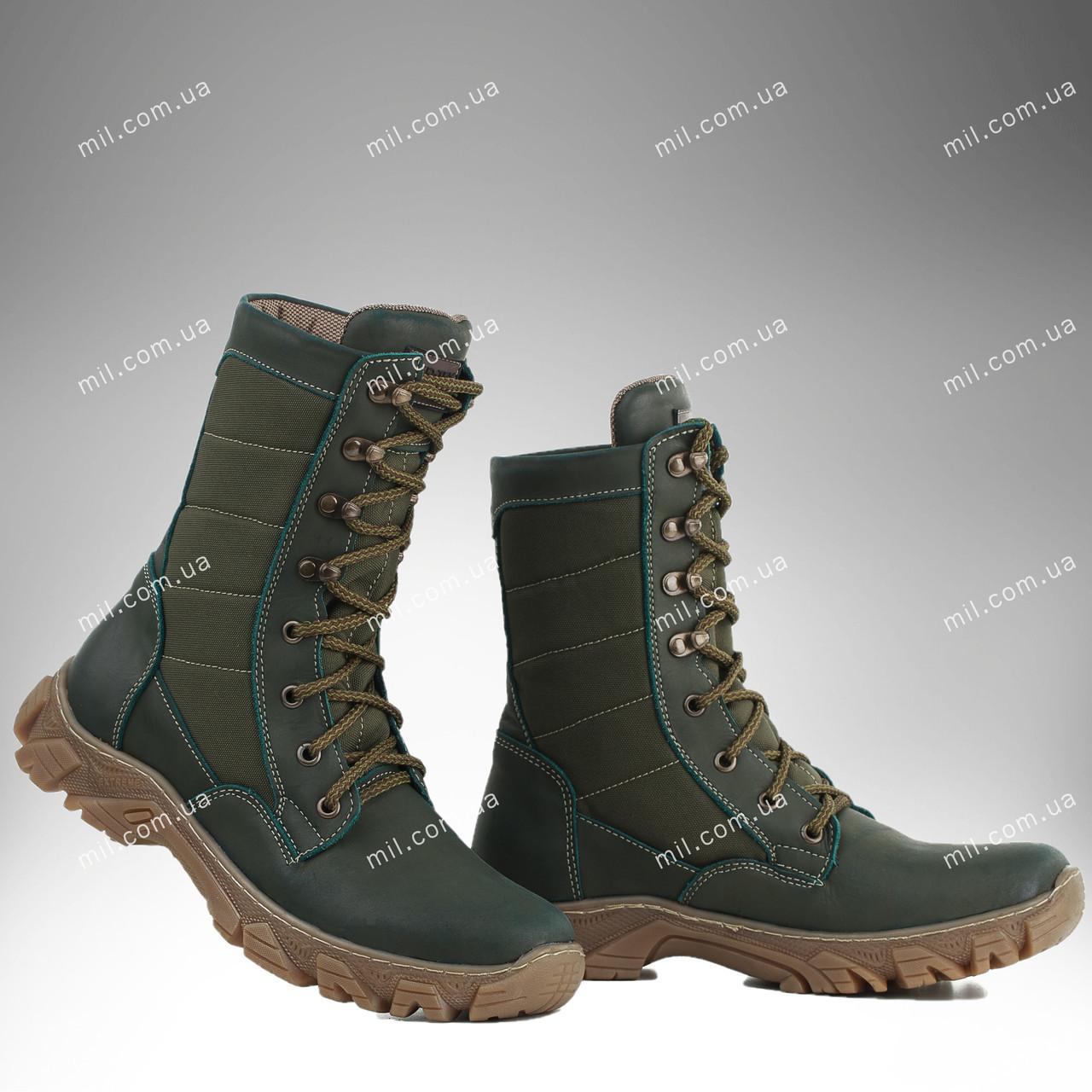 Военная зимняя обувь / берцы, тактическая обувь ДЕЛЬТА (olive)