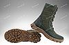 Военная зимняя обувь / берцы, тактическая обувь ДЕЛЬТА (olive), фото 2