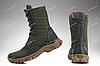Военная зимняя обувь / берцы, тактическая обувь ДЕЛЬТА (olive), фото 3