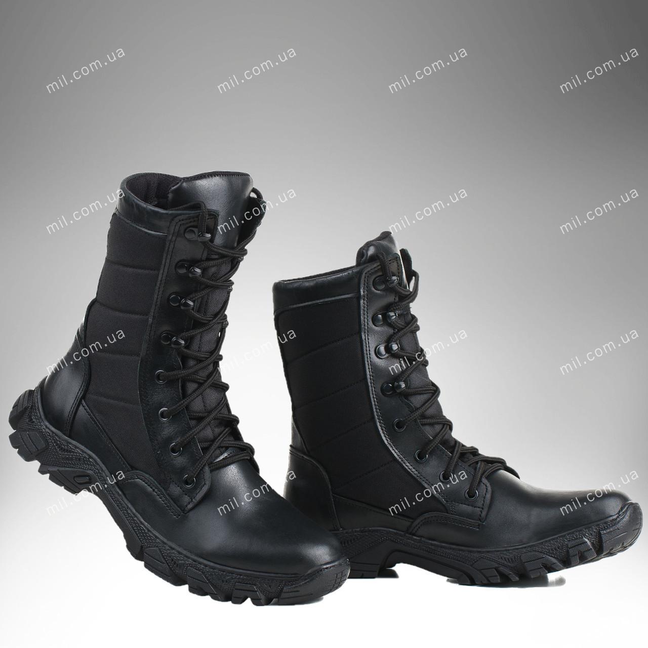 Военная зимняя обувь / берцы, тактическая обувь ДЕЛЬТА (black)