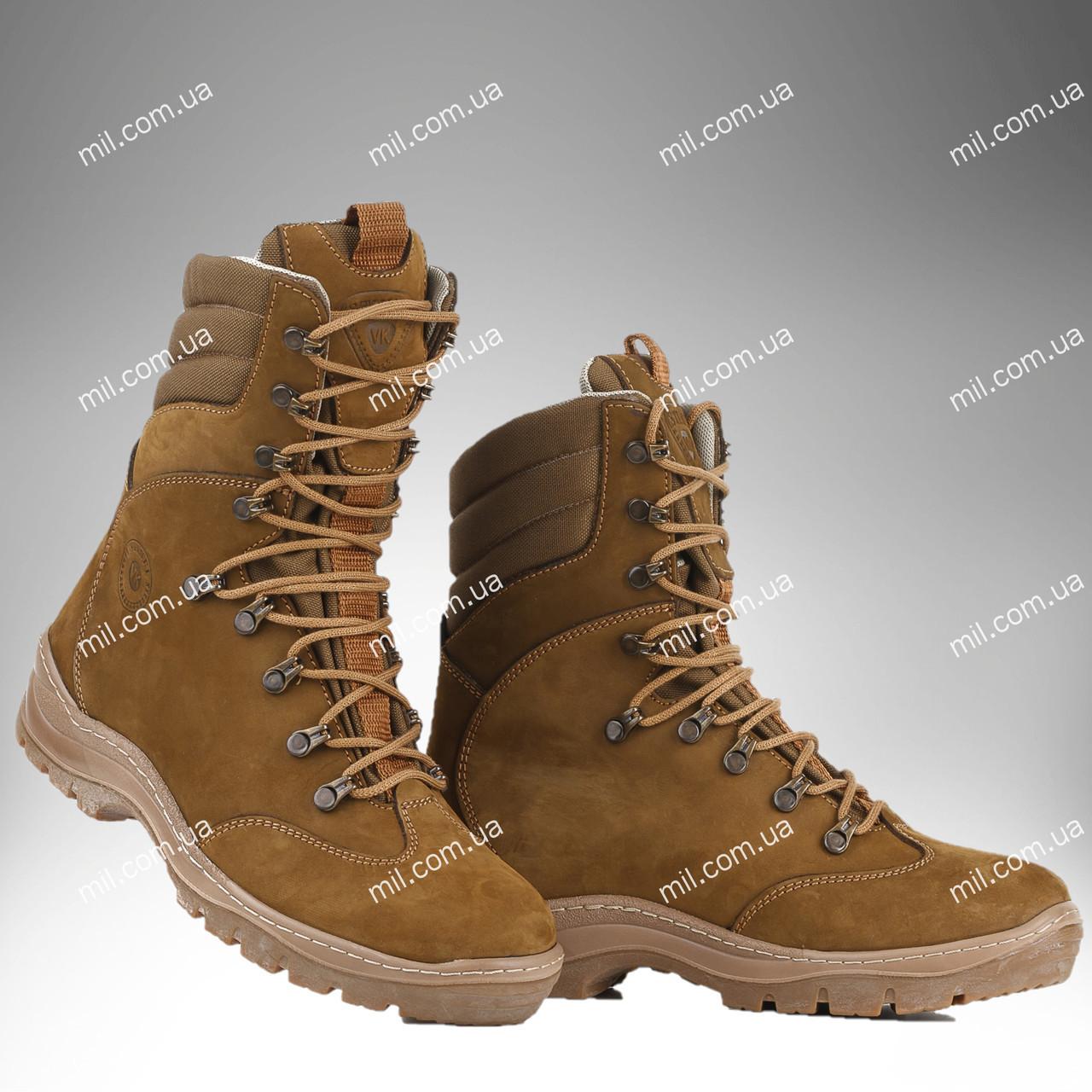 Берцы зимние / военная, армейская обувь OMEGA (coyote)