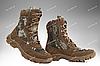 Берцы зимние / военная, тактическая обувь АЛЬФА (olive), фото 4