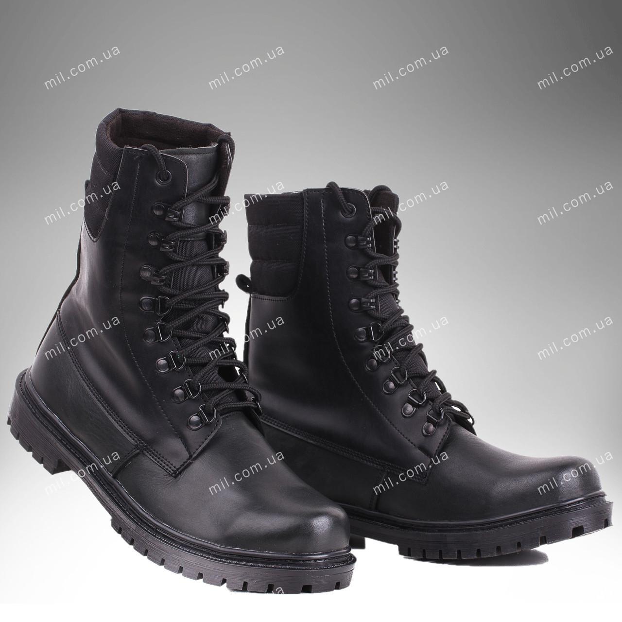 Берцы зимние / военная, рабочая обувь ШТУРМ (black)
