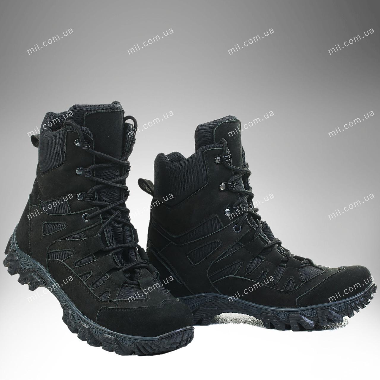 Зимняя военная обувь / тактические берцы ЦЕНТУРИОН (black)