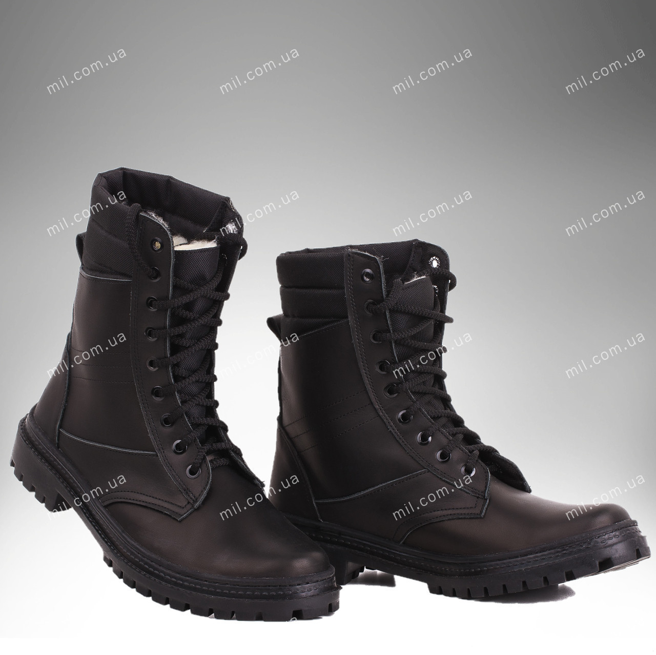 Берцы зимние / военная, рабочая обувь ПАНТЕРА II (black)