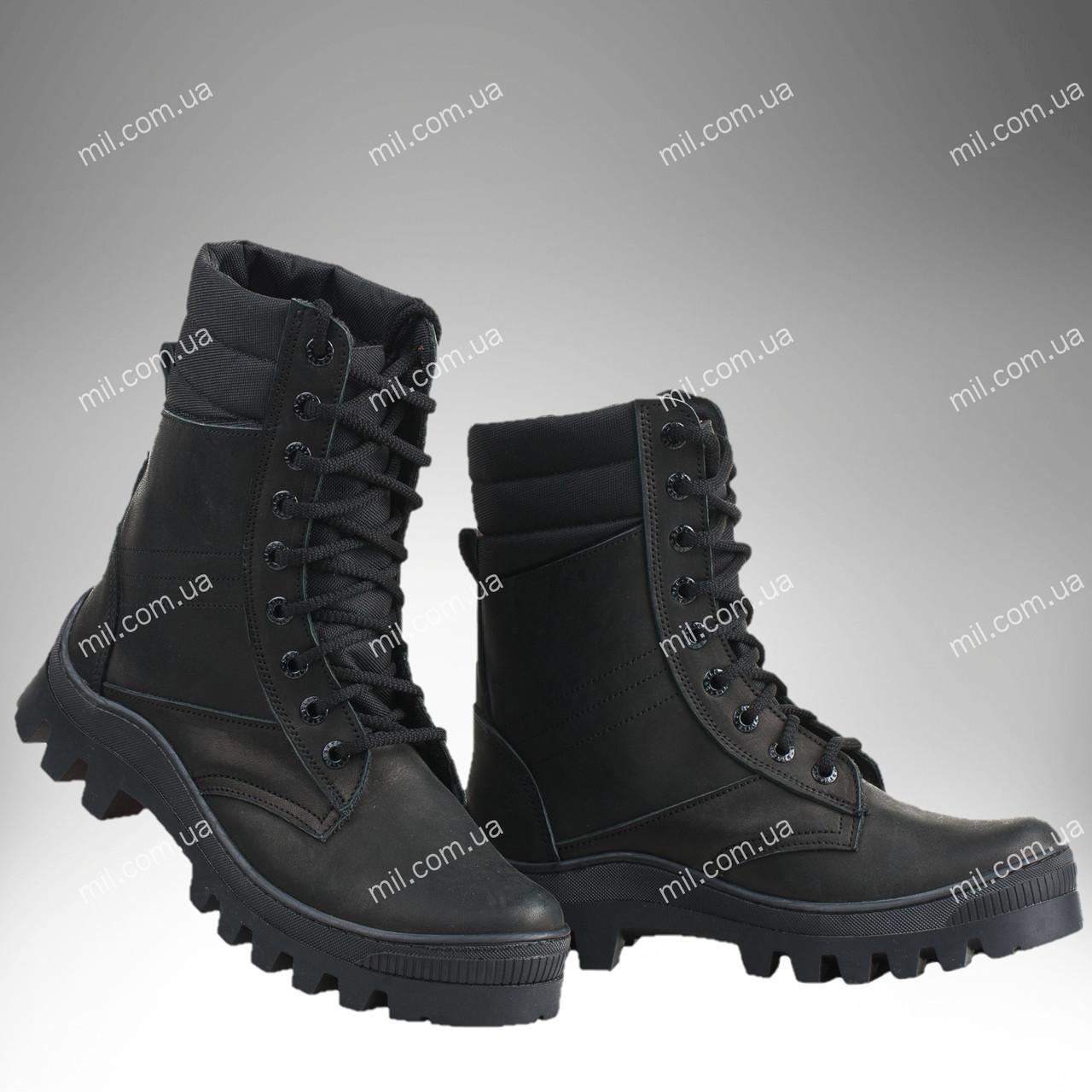 Берцы зимние / военная, рабочая обувь TOR2 (black)