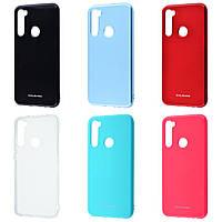 Чехол Molan Cano Glossy Jelly Case на Xiaomi Redmi Note 8 (6 цветов)