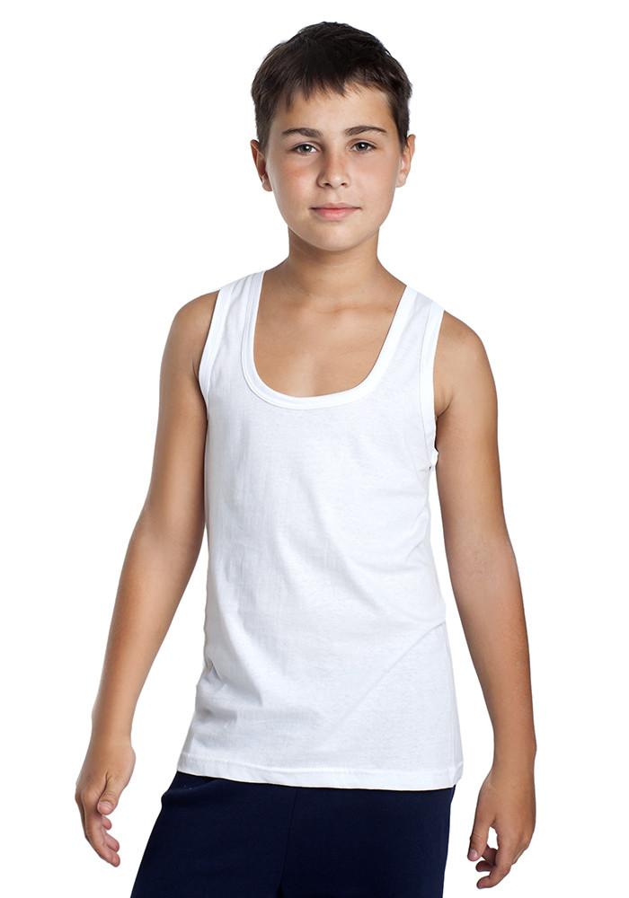 Майка детская белая EZGI р.45/10-11 (Арт.:MD0006-45)