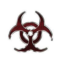 Наклейка Umbrella - биологическая опасность