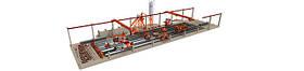 Линии Resimart® (Испания) для изготовления преднапряженных Ж/Б изделий и конструкций