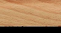 Плинтус с кабель каналом с прорезиненными краями 56х18мм 2,5м Тис бук орландо