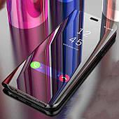 Зеркальный чехол-книжка CLEAR VIEW с функцией подставки для Samsung A6 Plus 2018 A605
