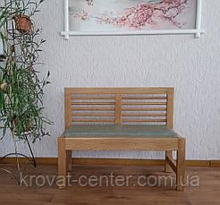 """Кухонный диванчик из массива натурального дерева """"Трюдо"""" от производителя, фото 2"""