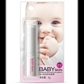 Увлажняющий питательный бальзам для губ Bioaqua Baby skin LipBalm с экстрактом меда, маслом ши и макадамии 3 г
