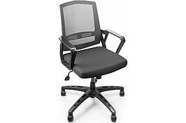 Крісло офісне комп'ютерне сітка для персоналу Barsky Панськи Office Elegant plus OFBel-01 OFWel-01 OFWel-02