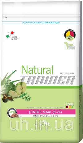 Trainer Natural сухий корм для юніорів великих і гігантських порід 3 КГ