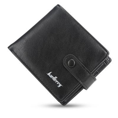 Кошелек Мужской Baellerry Бумажник Маленький Черный (D1305)