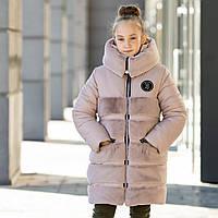 """Оригинальная и стильная куртка-шубка для девочки""""Плюша"""""""