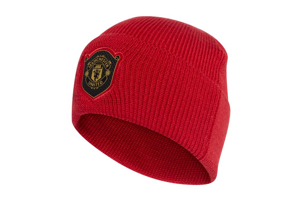 Шапка Adidas Manchester United Woolie DY7697 Красный (4060512197014)