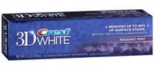 Отбеливающая зубная паста Crest 3D White Radiant Mint