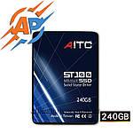 """SSD 240GB диск 2.5""""  SATA III 240GB твердотельный накопитель (жесткий) диск  AITC ST100"""