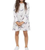 Платье с длинным рукавом для девочки 1,5-6 лет